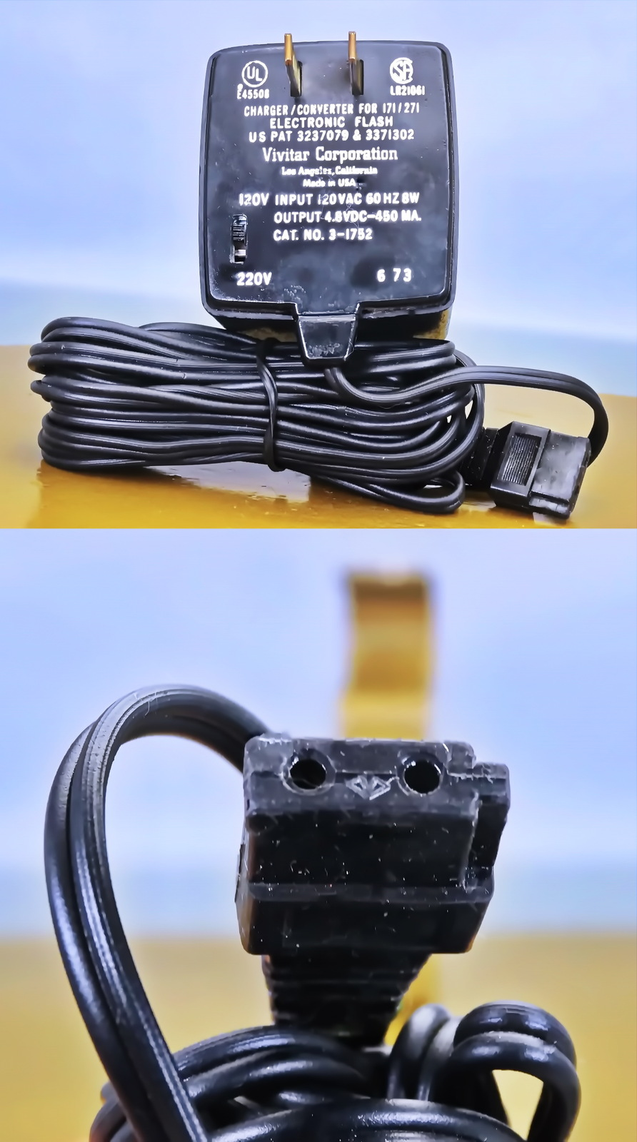 Vivitar Quick Charger Converter 110/220 Volts use for Flashes 171 & 271  - $35.88