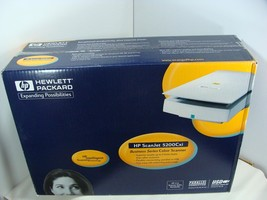 NEW SEALED HP HEWLETT PACKARD SCANJET 5200CXI BUSINESS SERIES COLOR SCANNER - $47.45