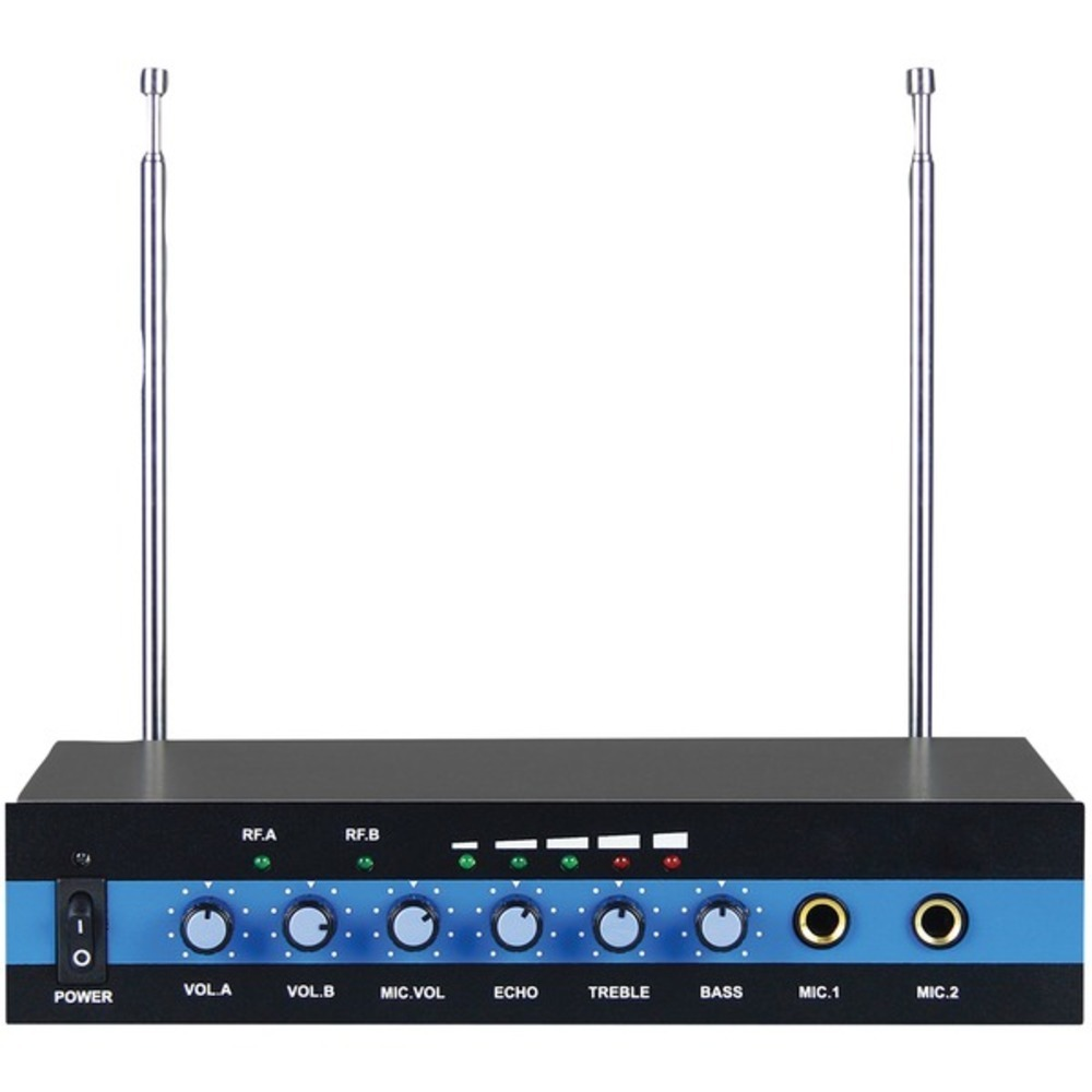 Primary image for Blackmore Pro Audio BMP-60 Dual Channel Wireless Microphone System