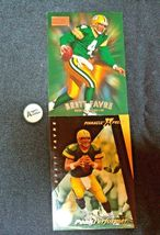 Brett Farve # 4 Green Bay Packers QB Football Trading Cards AA-19 FTC3002 Vintag image 3
