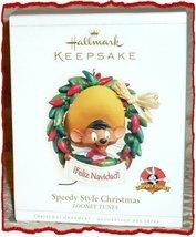 HALLMARK KEEPSAKE ORNAMENT SPEEDY STYLE CHRISTMAS LOONY TUNES [Kitchen] - $7.36