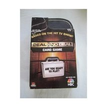 2007 NBC Deal or No Deal Card Game [Toy] - $28.49