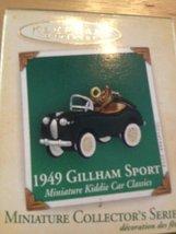 1949 Gillham Sport Mini Kiddie Car Classics #10 Hallmark 2004 QXM5161 [Kitchen] - $9.49