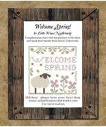 Welcome spring complimentary chart thumbtall