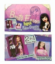 Lil' Bratz Fashion Organizer Handbag briefcase- Bratz HandBag [Toy] - $21.61