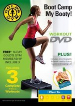 Gold's Gym Boot Camp My Booty Workout DVD [DVD] - $8.03
