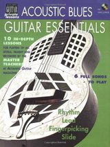 Acoustic Blues Guitar Essentials Book/CD (String Letter Publishing) (Aco... - $12.33