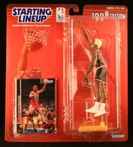 DENNIS RODMAN / CHICAGO BULLS 1998 NBA Starting Lineup Action Figure & E... - $9.13