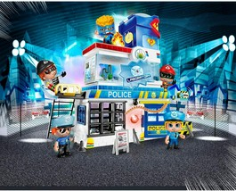 GIOCHI PREZIOSI Pinypon Station Of Police With 2 Characters Mix&match An... - $291.47