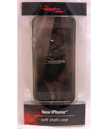 Rocketfish Soft Shell Case Cover for Apple iPhone 5 - Clear/Black  RF-A5... - $7.80