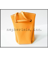 AUTH NEW $995 Hermes VESPA Small Leather Pouch ... - $600.00