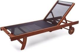 Strathwood Basics Chaise Lounge Chair with Textilene Fabric - $176.18