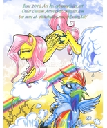 My Little Pony Friendship is Magic Rainbow Dash Fluttershy Cloud Kick Ar... - $15.99
