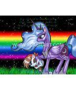 My Little Pony FiM Rainbow Night Luna & Pip Exclusive Limited Ed Print F... - $16.99