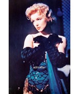 MARILYN MONROE VINTAGE 11X16 BUS STOP MOVIE POSTER SEXY PHOTO IN BLUE ST... - $25.73
