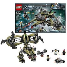 Lego Year 2014 Ultra Agents Series Battle Scene Set #70164 - HURRICANE H... - $109.99
