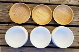 CRATE AND BARREL Hot Dip Bowls x 3 EUC - $43.12