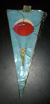 Vintage Flag Chain 1960-70's Pin Up Comic Nude Paratroop IDF Symbols Israel NOS image 1