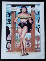 BETTIE PAGE 9X12 PIN-UP POSTER INSANELY SEXY LEGS SIZZLING HOT PRINT COM... - $3.99