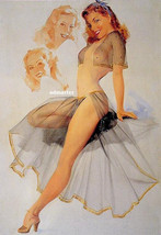"TED WITHERS 8.5X11"" PIN-UP GIRL POSTER LINGERIE SEXY PHOTO HOT PINUP ART... - $7.91"