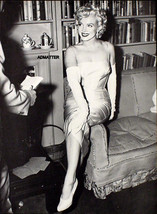 Marilyn Monroe Pin Up Poster In Sexy Evening Gown & Gloves Rare Print Wall Art! - $7.91