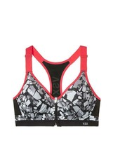 VSX Incredible by Victoria's Secret Front-close Sport Bra, Rockscape (7T4), NWT - $32.00