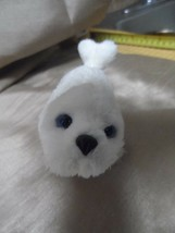 Hasbro FurReal Friends Snuggimals Mini Seal Pup Moves Head Flipper White... - $9.85