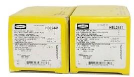 LOT OF 2 NIB HUBBELL HBL2441 INSULGRIP TWIST-LOCK PLUGS 20A, 4-POLE, 4-WIRE