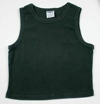 Old Navy Girls Medium 8 Tank Top Black Shirt Sleeveless Layering 100% Cotton - $9.89