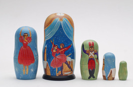 "Exclusive matryoshka doll nesting doll Ballet The Nutcracker Tschelkunchik  6.6"" image 2"