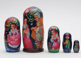 Exclusive matryoshka doll nesting doll Ballet The Nutcracker Tschelkunch... - $89.90
