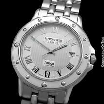 Raymond Weil Tango Mens Ref. 5560 Stainless Steel Watch - Mint With Warranty - $612.26