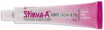 STIEVA-A TRETINOIN CREAM 0.1% / TREAT ACNE ANTI WRINKLE