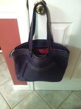 Lavender Leather Reversible Ruby Cole Haan Shoulder Bag Purse Tote $198 ... - $110.99