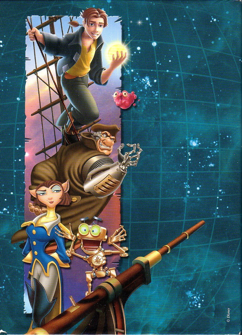treasure planet dvd - HD 820×1133