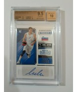 RARE Luka Doncic Auto BGS 9.5 GEM MINT 2x 10 Subs 2018-19 Contenders Dra... - $3,919.88