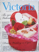 "Victoria Magazine ""Valentine Issue"" February 2003 - $6.00"
