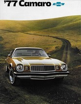 1977 Chevrolet CAMARO brochure catalog Type LT Z28 Rally Sport Chevy - $9.00