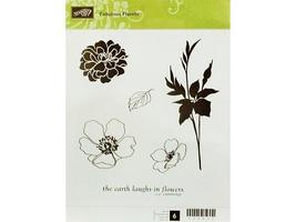 Stampin' Up! Fabulous Florets Rubber Cling Stamp Set #123027