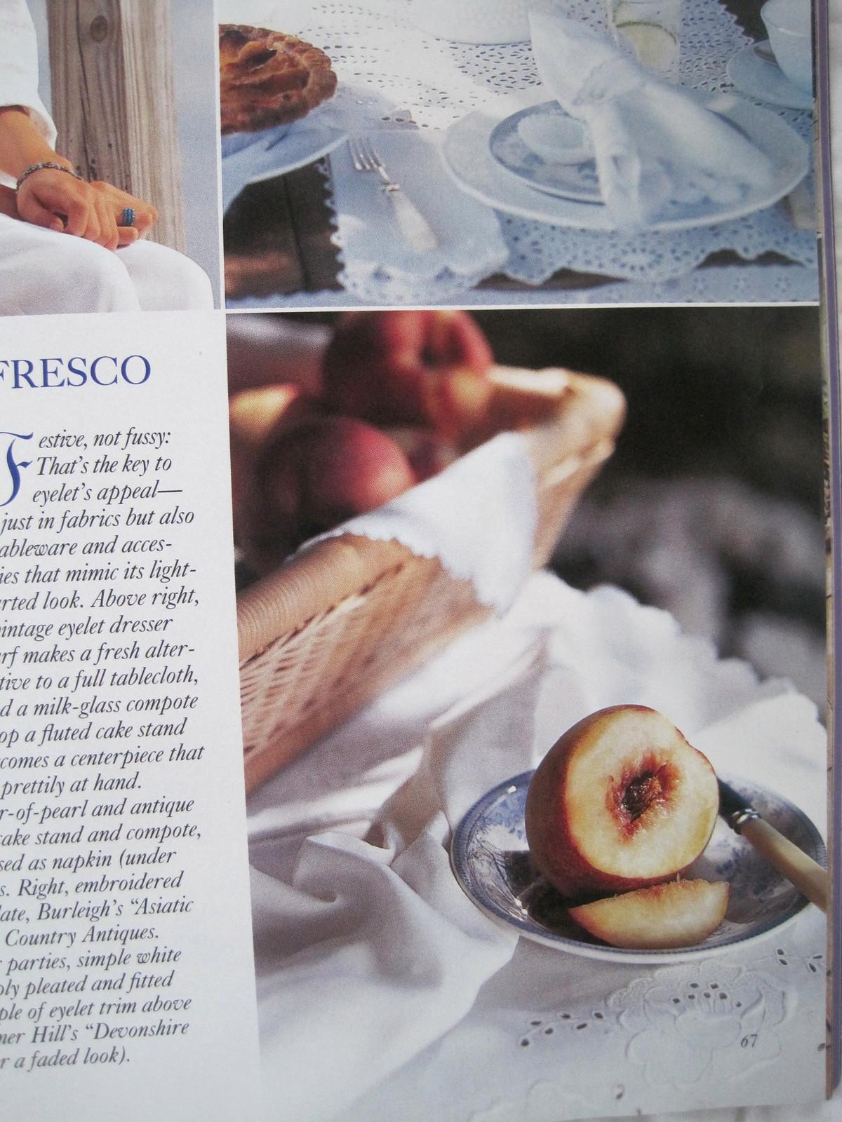 """Victoria Magazine """"Summer Issue"""" July 2000"""