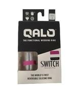 Qalo Functional Wedding Ring  SWITCH Womens Size 5 Fuscia/White Fitness ... - $17.77