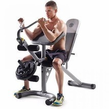 Home Exercise Equipment Machine Gym Station Total Body Workout Bench Adj... - $118.79