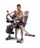 Home Exercise Equipment Machine Gym Station Total Body Workout Bench Adj... - €105,17 EUR