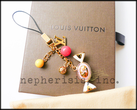 AUTH NWB Louis Vuitton DELICE CANDY Sweet Charm Phone Strap or Bag Charm - $395.00