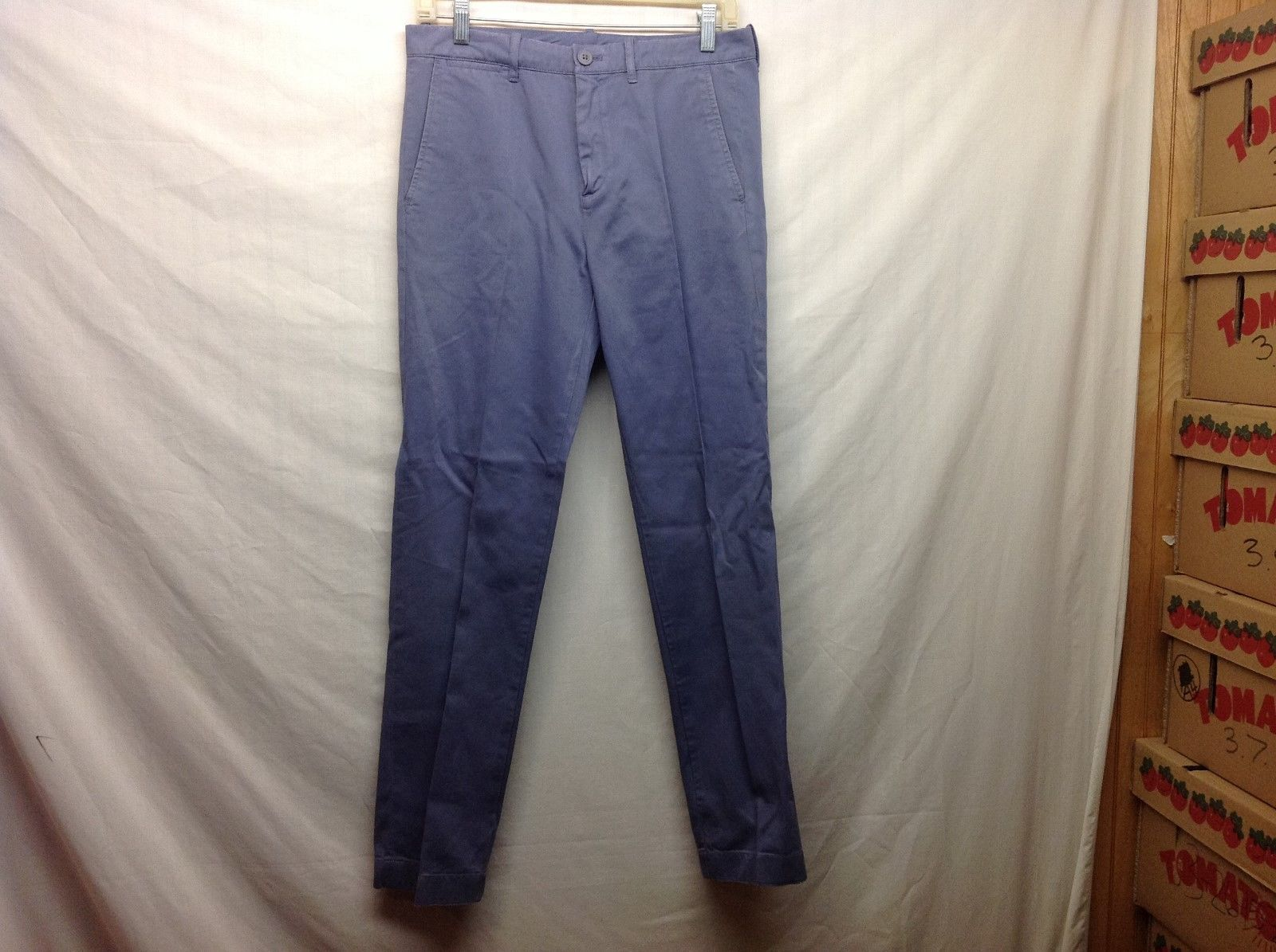 Boys Med Weight Lt Blue Pants by Crewcuts Sz 14 Slim