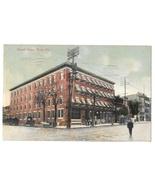 York PA Hotel Penn Telephone Poles Vintage Postcard 1910 - $6.69