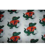 UF University Fabric 1/2 yard Gators Football UF Sports College - $5.00