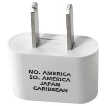 Conair Adapter Plug For North & South America Caribbean & Japan W/ Dual ... - $10.99