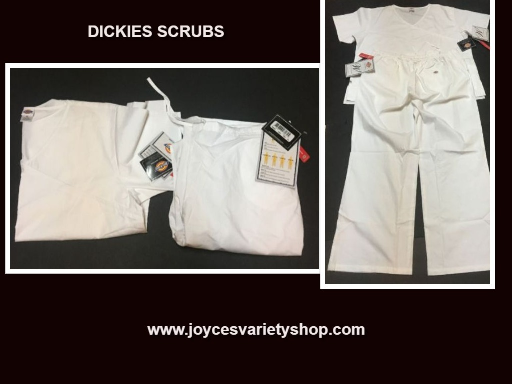 Dickies relaxed fit scrubs web collage