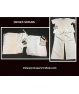 Dickies Relaxed Fit Soft Touch Medical Uniforms Scrubs SZ XL Top & Botto... - $22.99